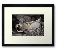 Photo collage of a Coffee Cup Framed Print