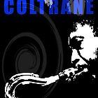 John Coltrane by celebrityart