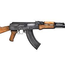 AK-47 Gun by ReidDesign