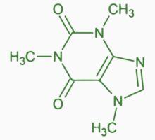 Caffeine Molecule by ericbracewell