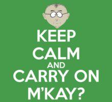 Mr. Mackey m'kay? by andraskiss