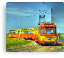 Blackpool Tram 672 Canvas Print