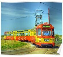 Blackpool Tram 672 Poster