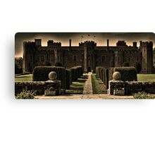 Herstmonceux Castle and Gardens Canvas Print