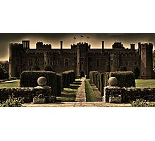 Herstmonceux Castle and Gardens Photographic Print