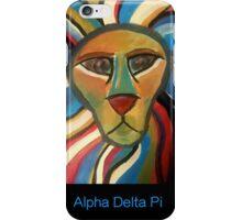 Alpha Delta Pi Lion iPhone Case/Skin