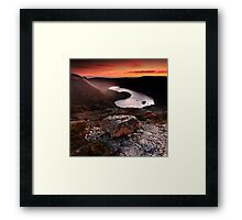 Dove Lake Framed Print