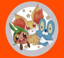 Pokemon xy starter  Kids Tee
