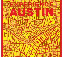 Experience Austin Poster by austinposter