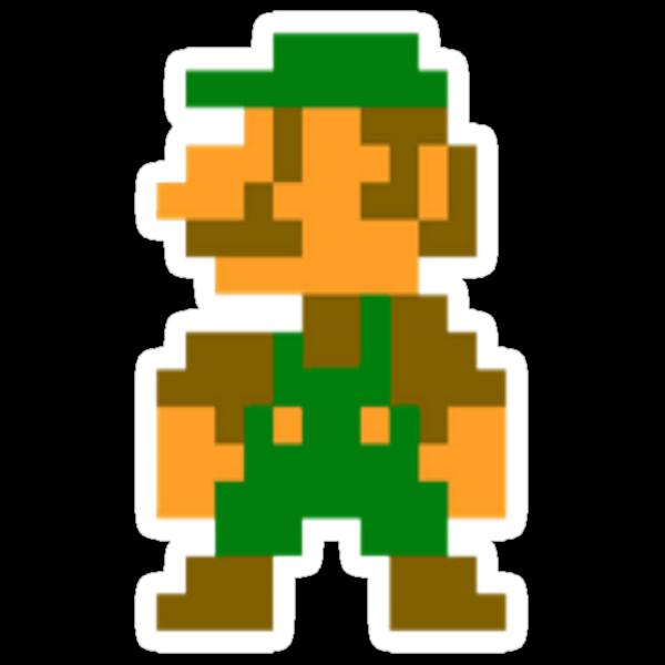 Minecraft Pixel Art Tutorial  8 Bit Mario