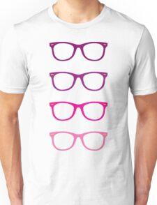 Pink Wayfarer Unisex T-Shirt
