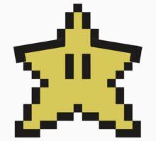 Mario Star Pixels by milkyt
