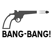 Bang - bang Photographic Print