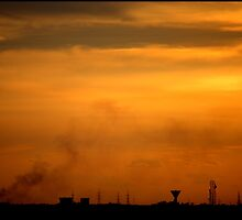 the Dusk at Hyderabad, by adarsh
