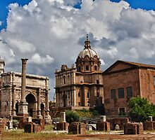 Roman Buildings by martinilogic