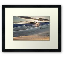 Panamint Dunes Framed Print