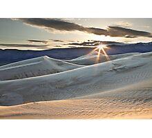 Panamint Dunes Photographic Print