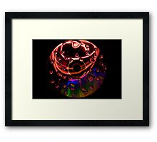 experiments in water  Framed Print