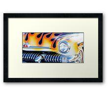 Mercury on Fire Framed Print