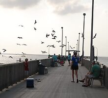 On the Pier by zpawpaw