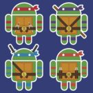 Teenage Mutant Ninja Droids by Bamboota