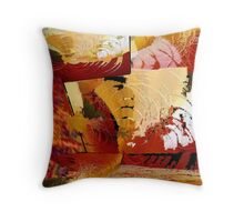 """Redeeming Features"" Throw Pillow"