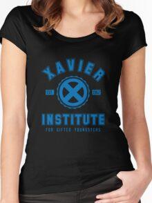 Xavier Institute (Blue) Women's Fitted Scoop T-Shirt