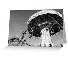 Carnival Rides in Vancouver Greeting Card