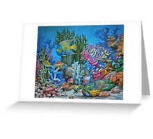 Caribbean Reef Greeting Card