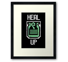 Heal Up! Framed Print