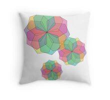 07: Flowers Throw Pillow