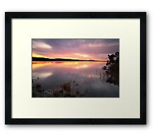 """Saturday Sunset"" Framed Print"