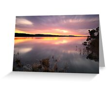 """Saturday Sunset"" Greeting Card"