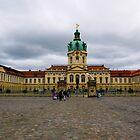 Charlottenburg Palace in Berlin Germany by Rae Tucker