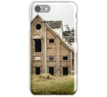 Abandoned Maltings Factory Exterior  iPhone Case/Skin