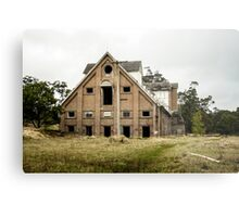 Abandoned Maltings Factory Exterior  Metal Print