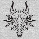 Dragon Head by nickbiancardi