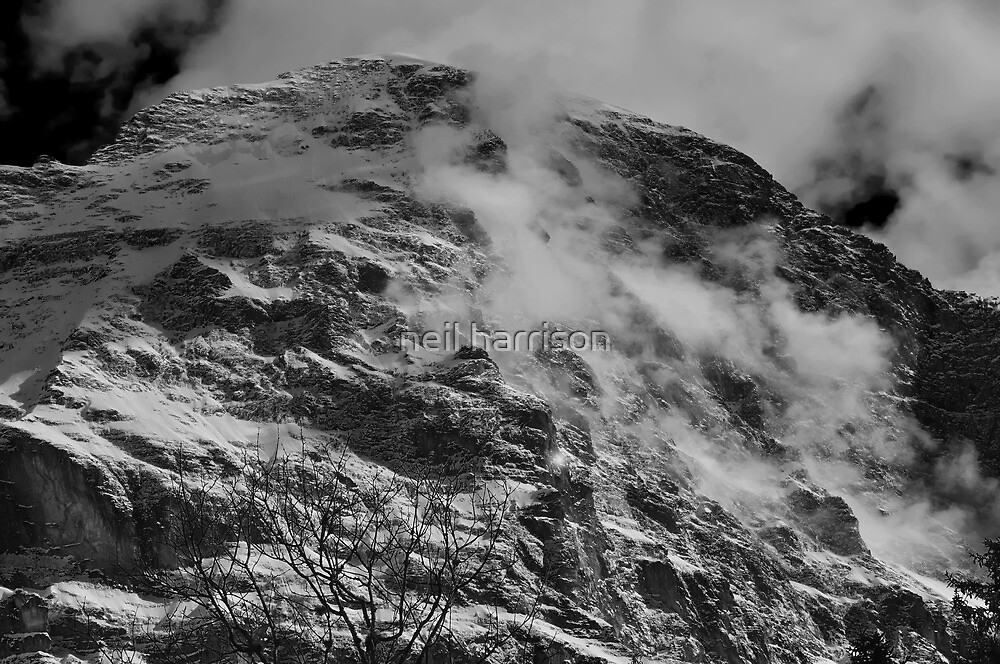 The north face of the Eiger by neil harrison