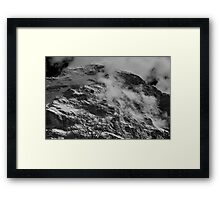 The north face of the Eiger Framed Print