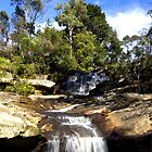 Sunday waterfall by Doug Cliff