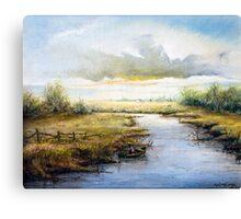 Early Morning Fisherman (1980) Canvas Print