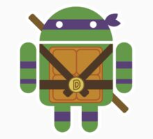 Donnie Droid Sticker by Bamboota