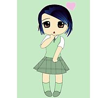 Cute Chibi In Love Photographic Print