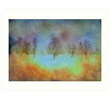 Monet's playground Art Print