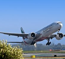 Emirates Leaving SFO by MattGranz