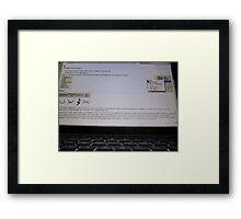 S@wikipedia Framed Print