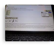 S@wikipedia Canvas Print