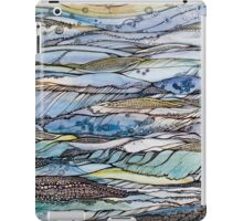 Ocean my fantasies.Hand draw  ink and pen, Watercolor, on textured paper iPad Case/Skin