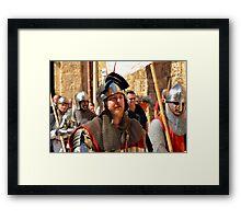 A Teutonic Knight Framed Print
