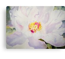 Blushing Bride Canvas Print
